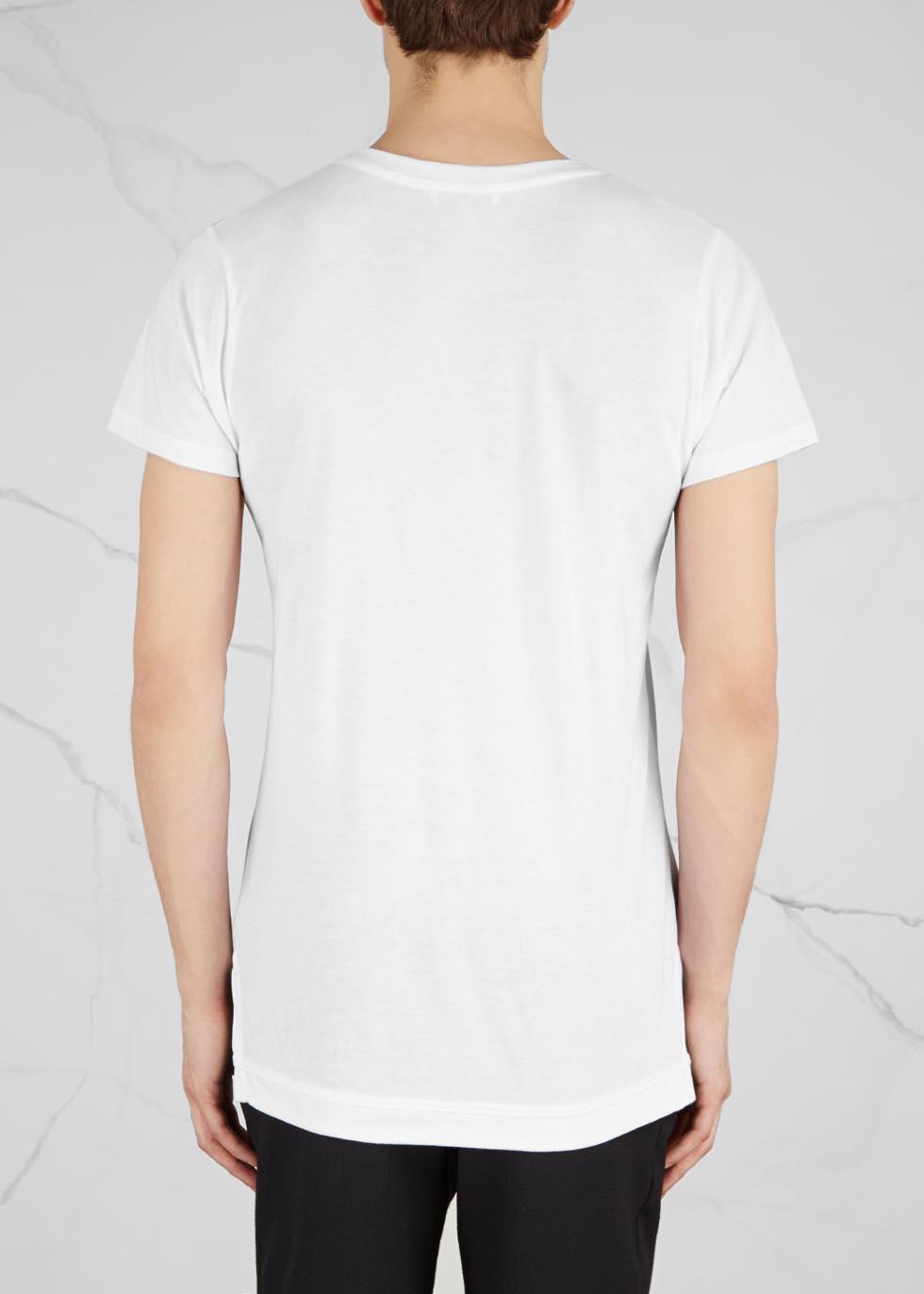Mercer white jersey T-shirt - John Elliott