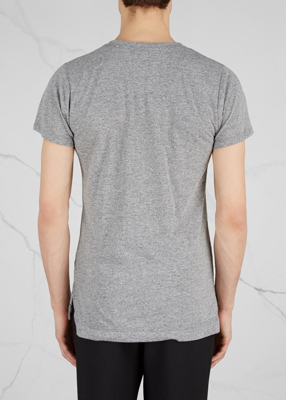 Mercer grey jersey T-shirt - John Elliott