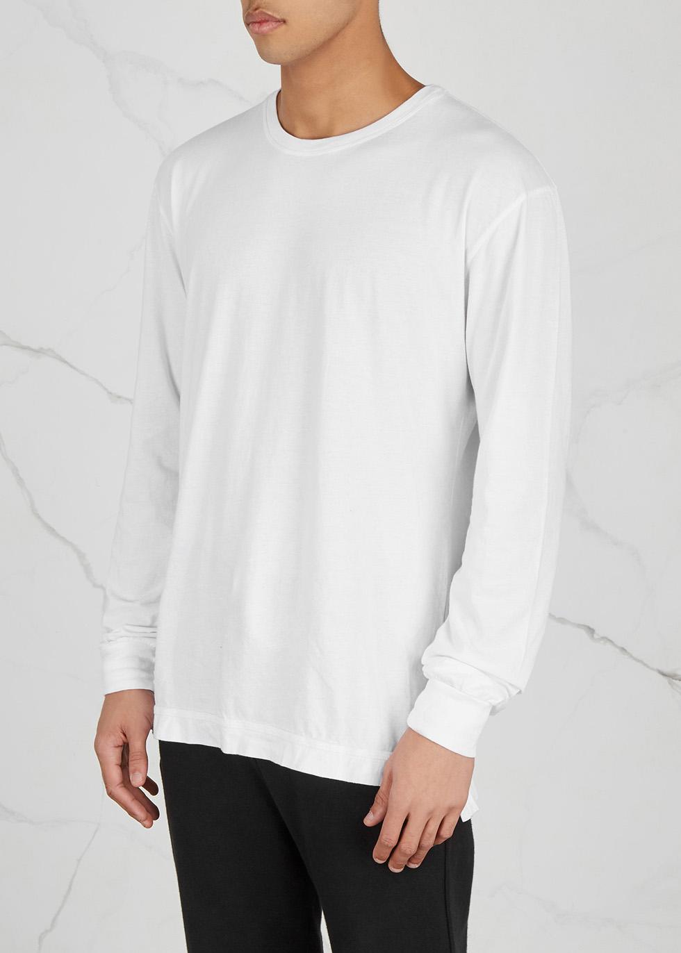 Mercer white Supima cotton blend top - John Elliott