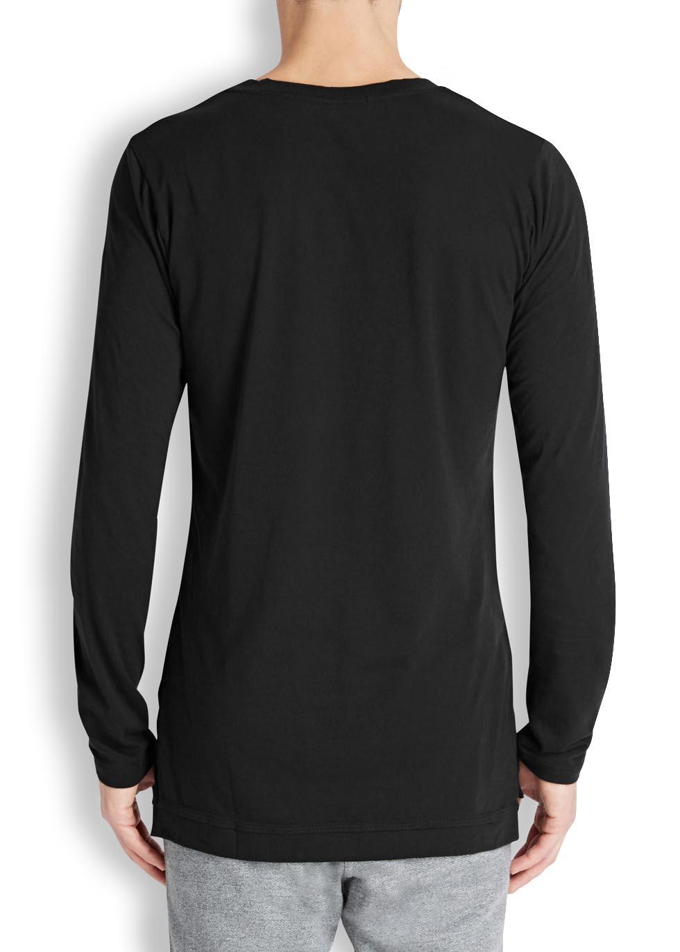 Mercer black Supima cotton blend top - John Elliott