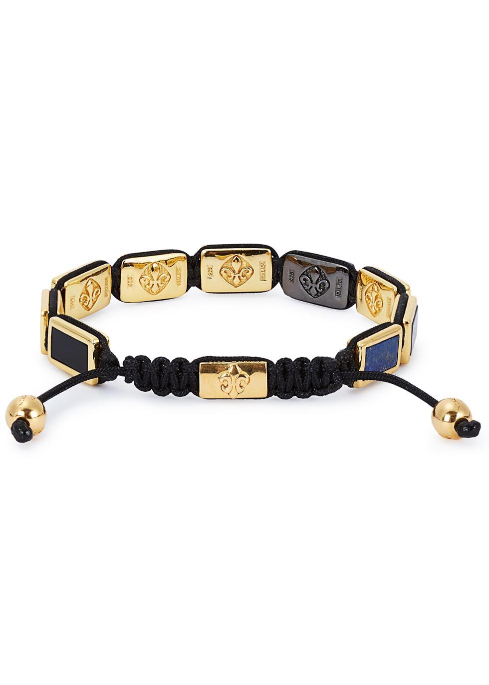 Beaded cord bracelet - Nialaya