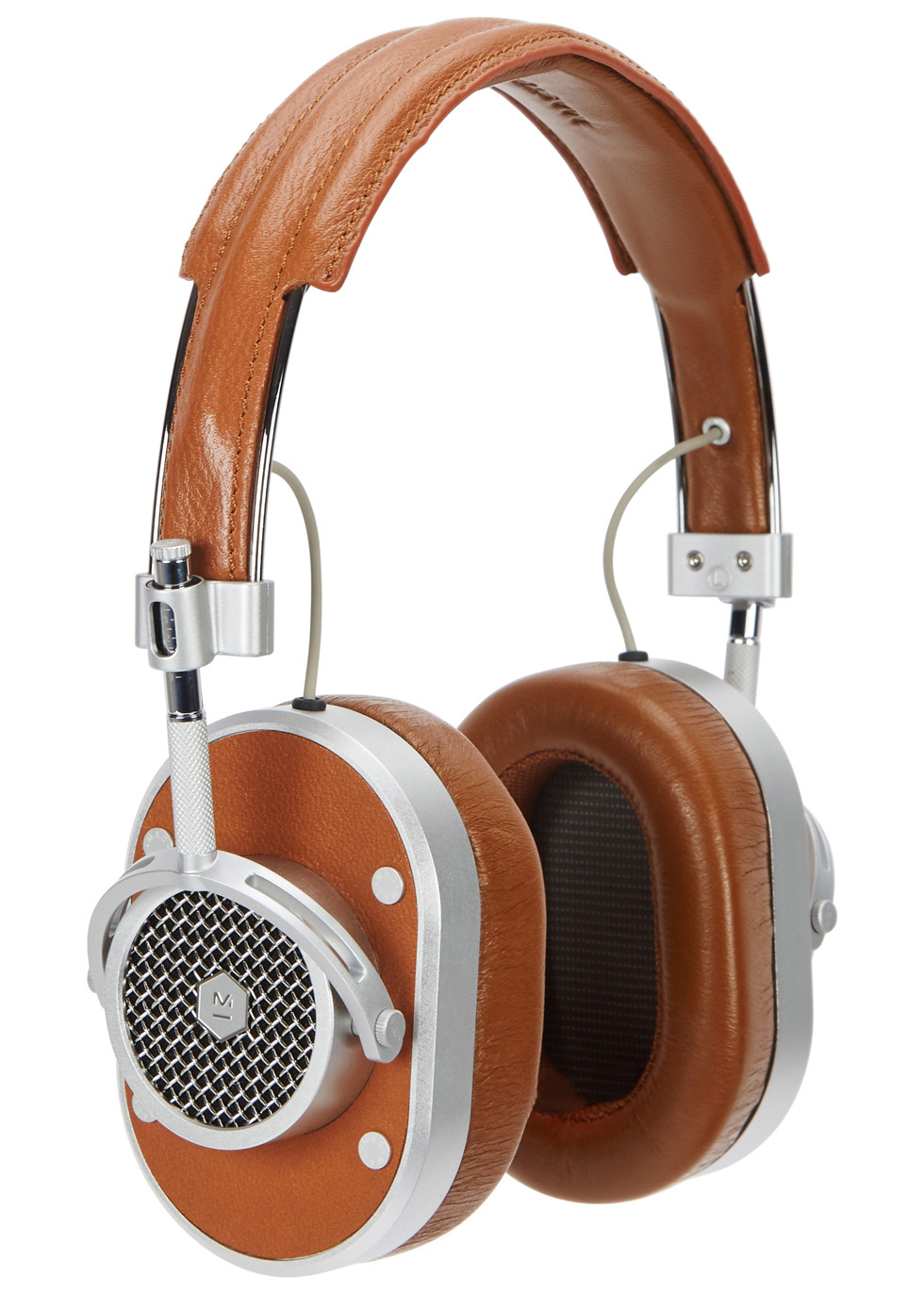 MH40 brown aluminium headphones - Master & Dynamic