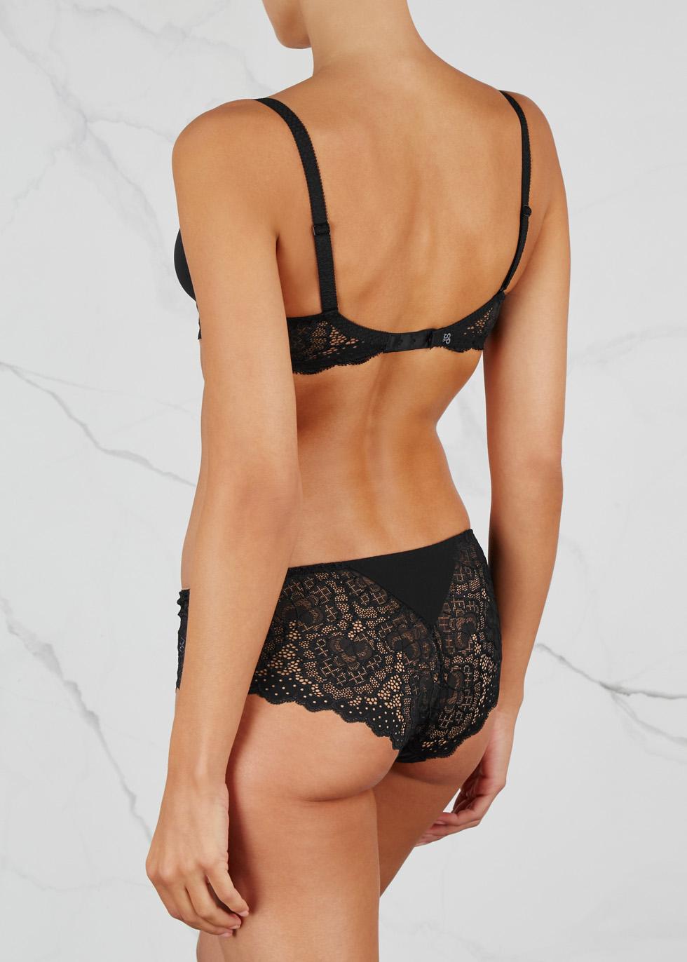 Caresse 3D black underwired bra - Simone Pérèle