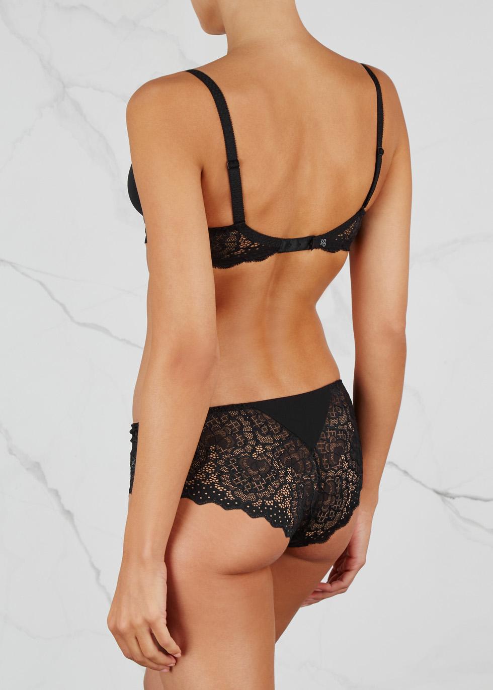 Caresse black lace briefs - Simone Pérèle