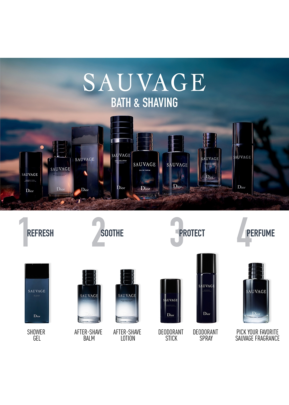 Sauvage After-Shave Lotion 100ml - Dior