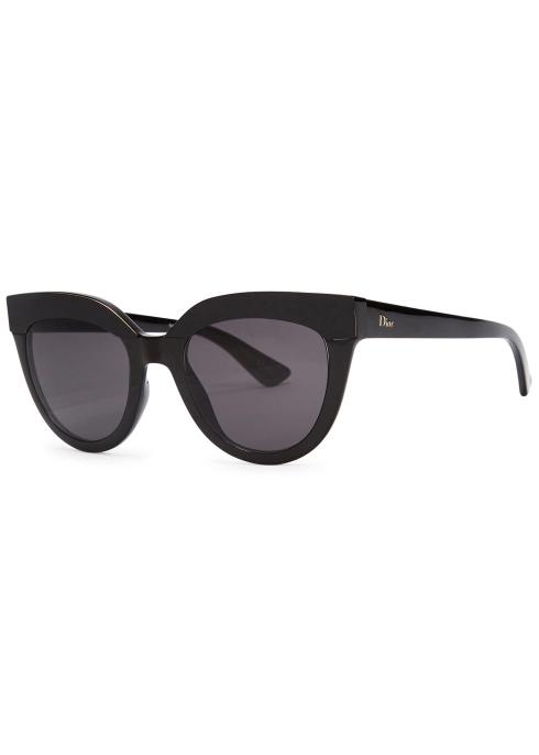 493e262c69b00 Dior Dior Soft black cat-eye sunglasses - Harvey Nichols