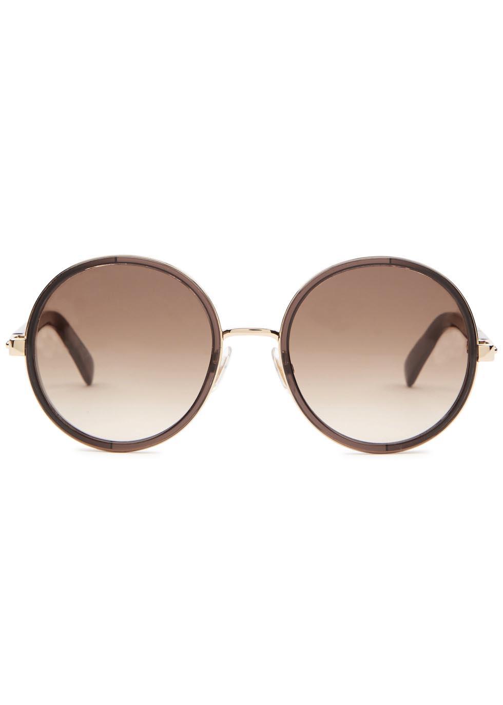 Andie brown mirrored sunglasses - Jimmy Choo