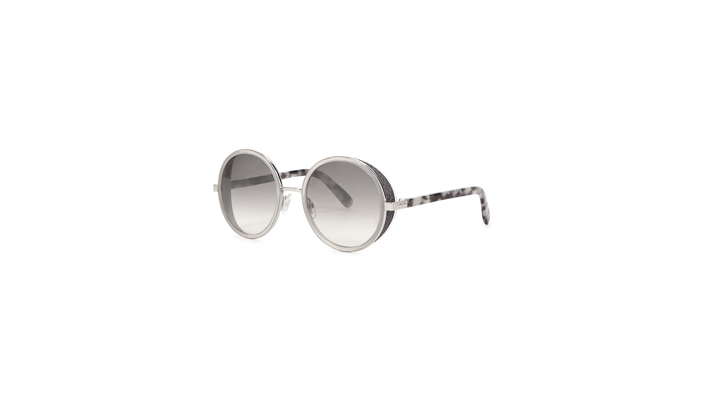 9715fda9cc1 Jimmy Choo Andie grey mirrored sunglasses - Harvey Nichols