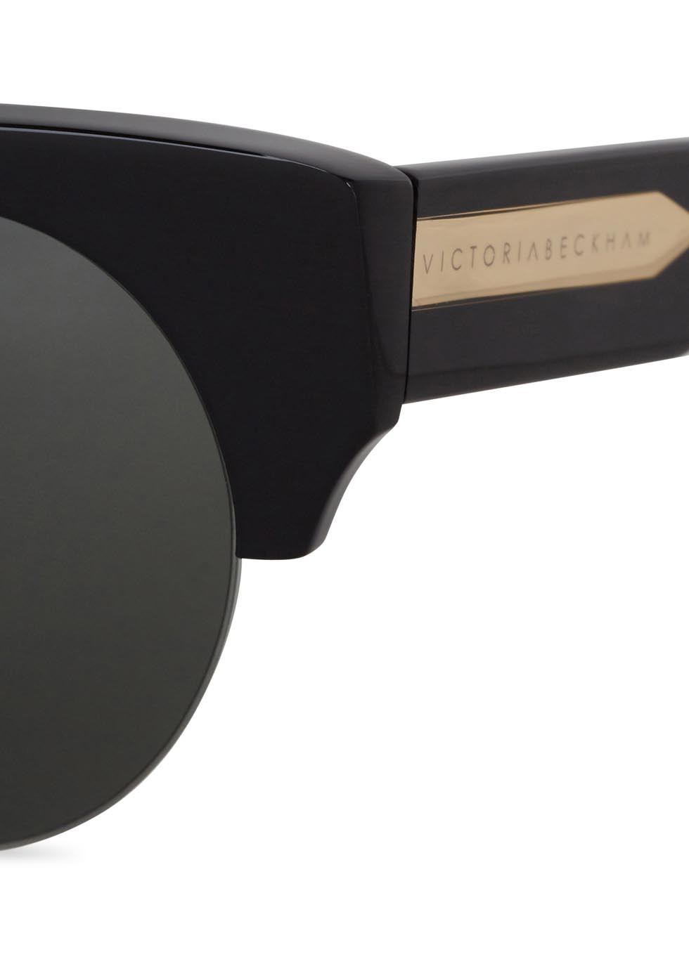 Supra Kitten black cat-eye sunglasses - Victoria, Victoria Beckham
