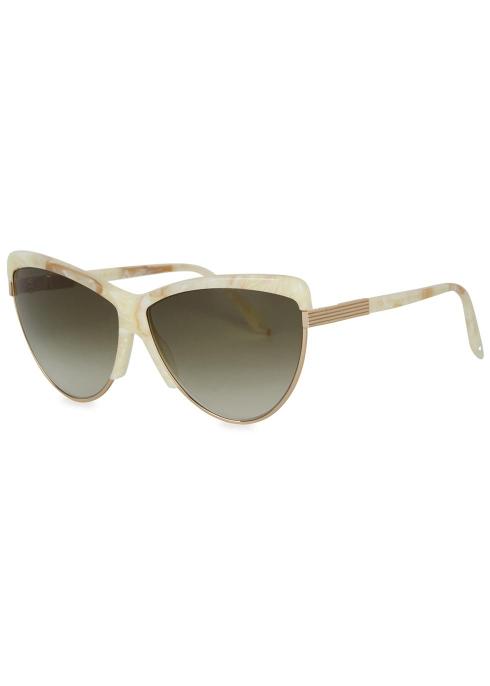 7d2d55fc06 Combination Cat ivory cat-eye sunglasses - Victoria