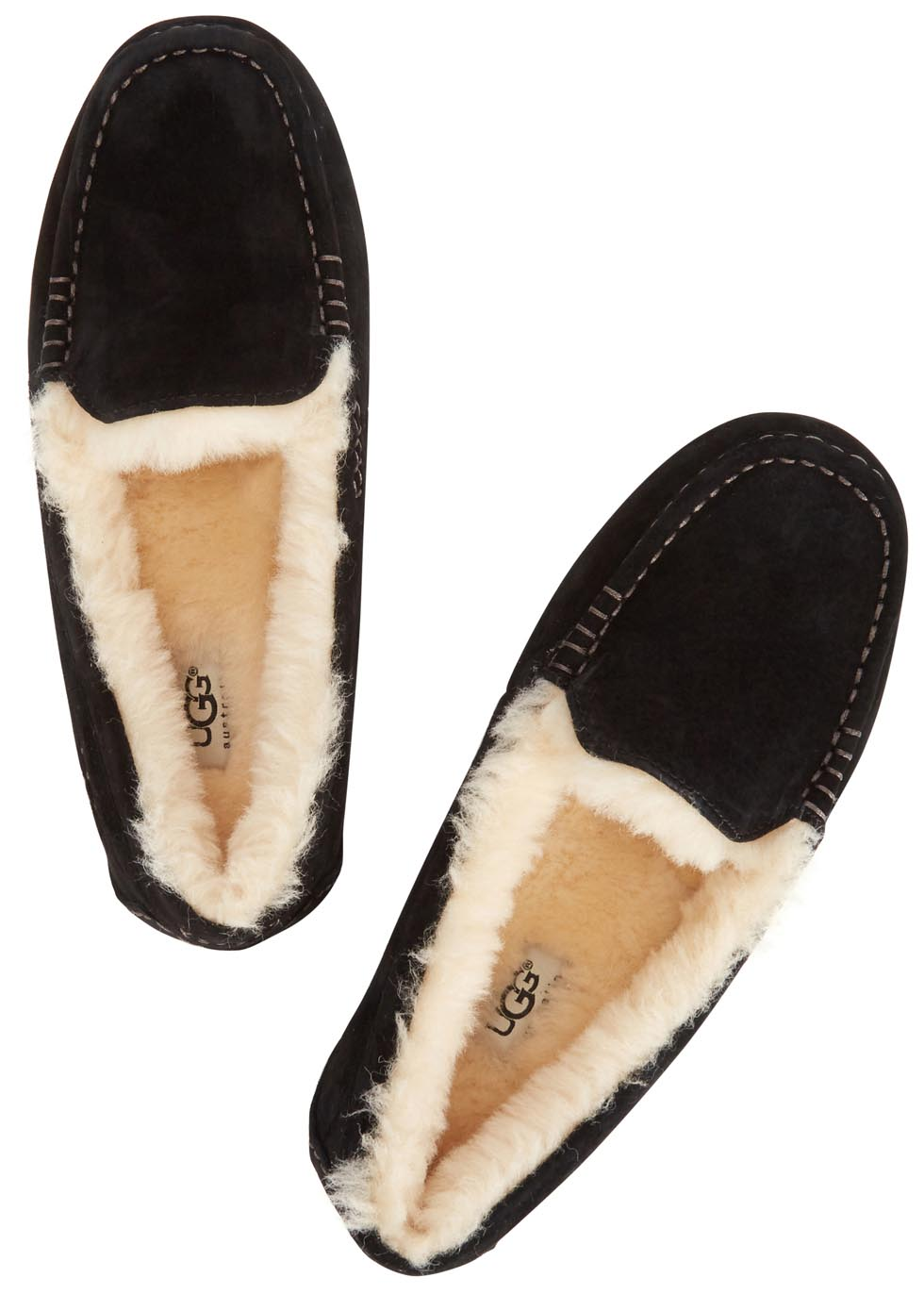 Ansley black suede slippers - UGG