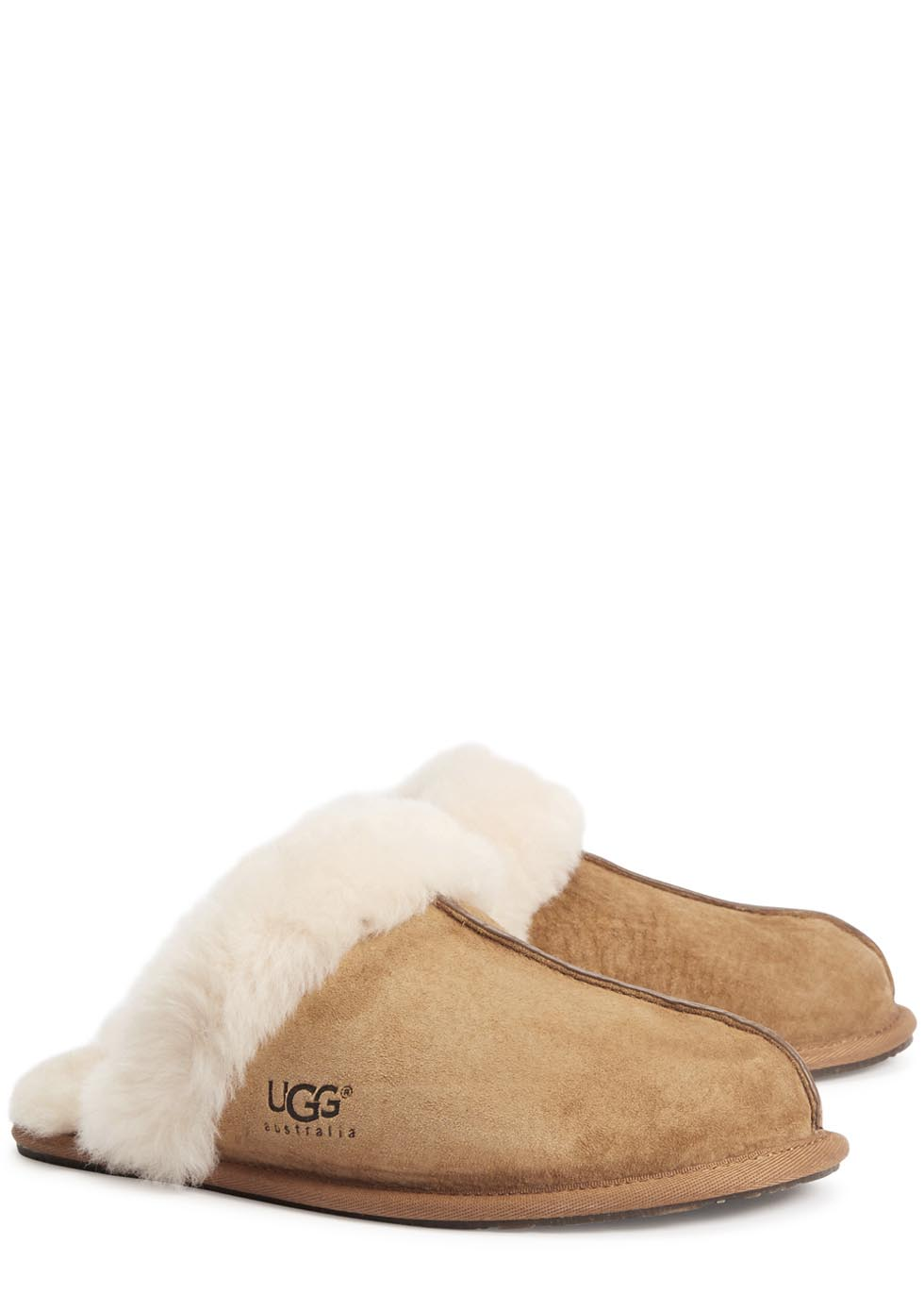 Scuffette II chestnut suede slippers - UGG