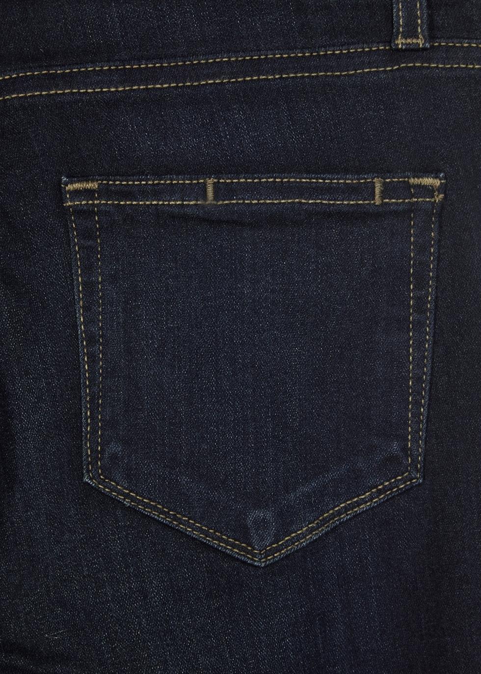 Hoxton Transcend indigo slim-leg jeans - Paige