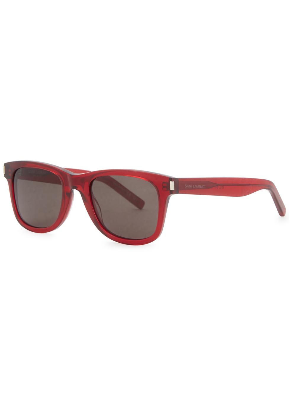 SL 51 red square-frame sunglasses - Saint Laurent