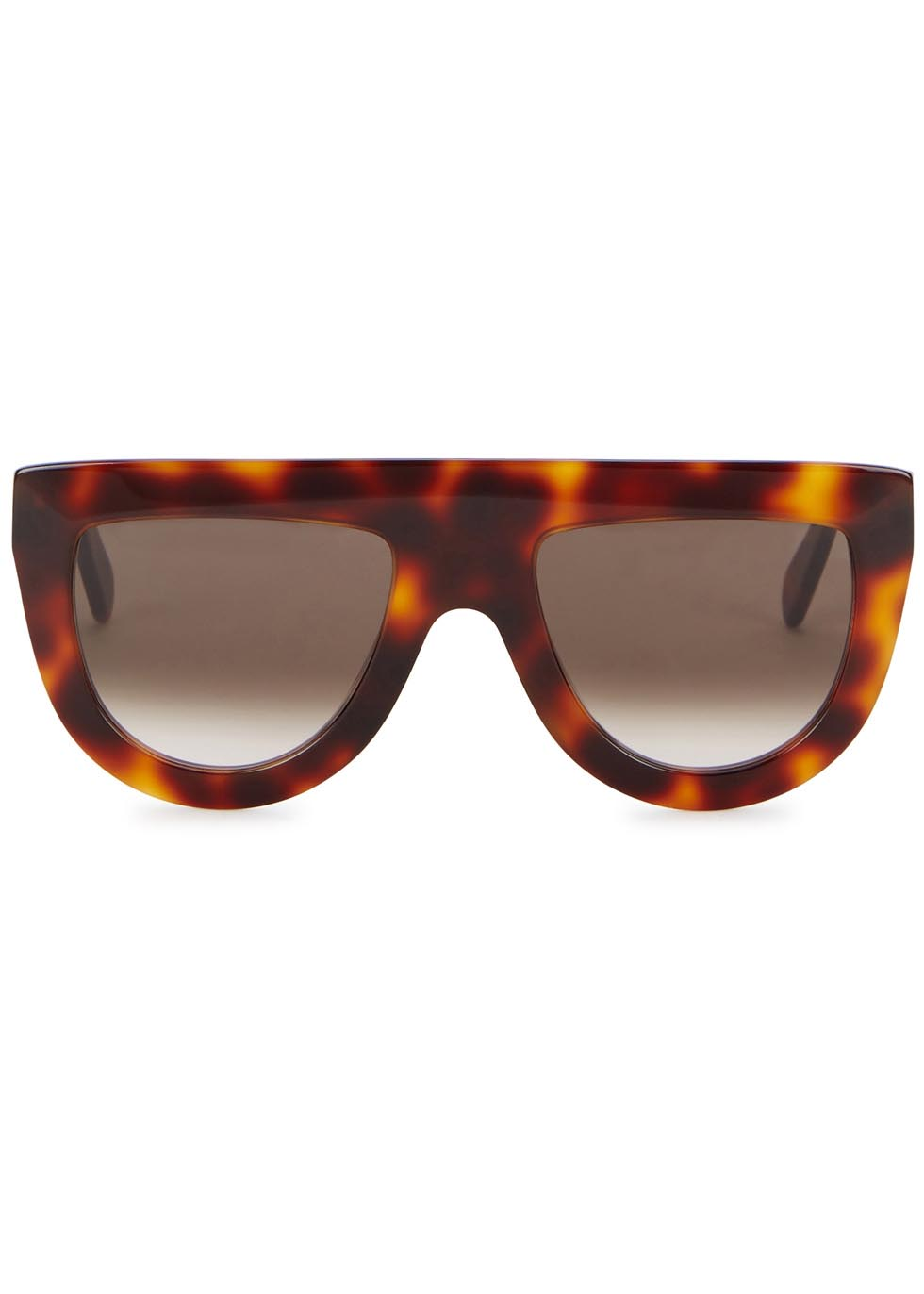 Andrea tortoiseshell D-frame sunglasses - Celine