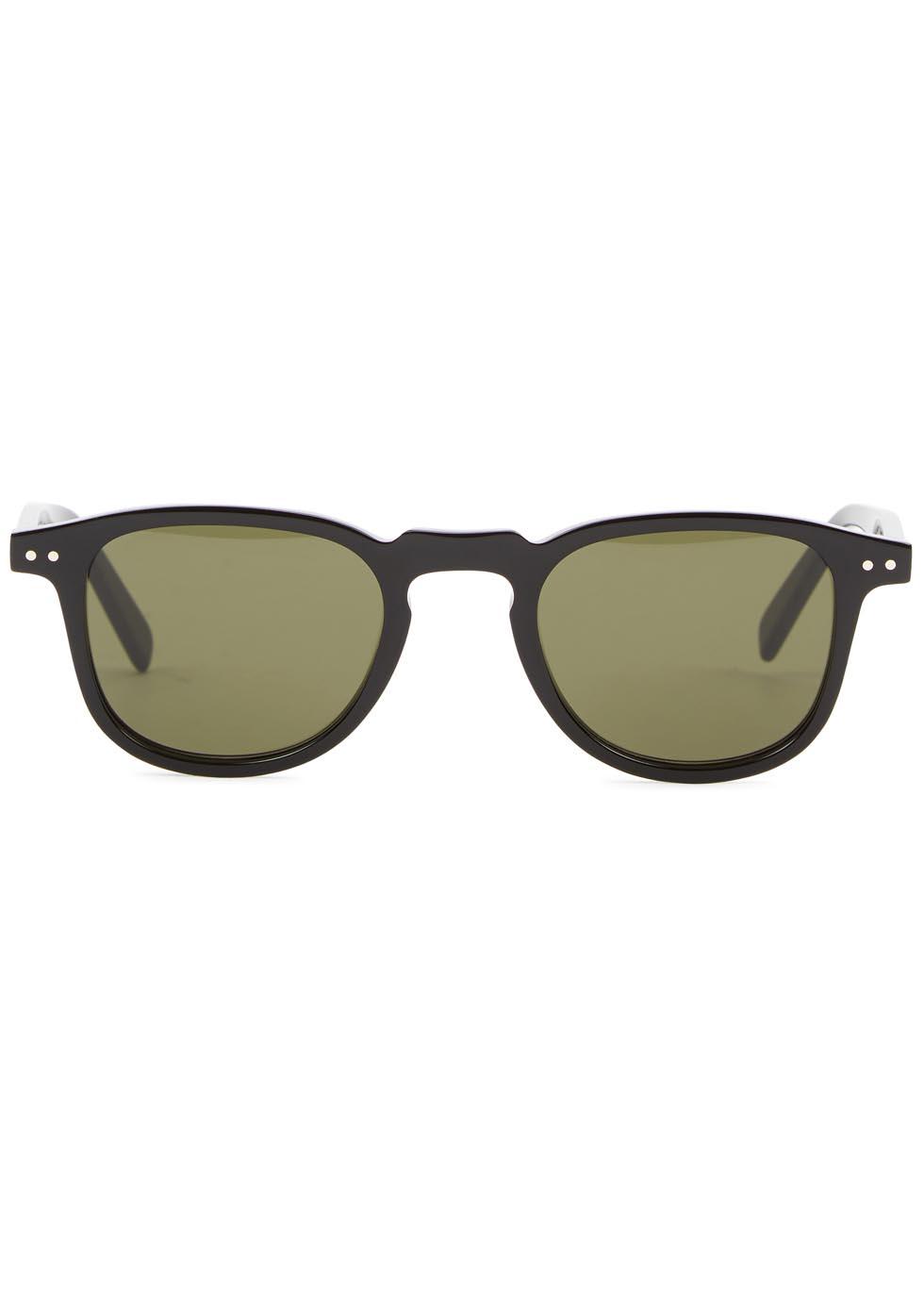 Freddy oval-frame sunglasses - Celine