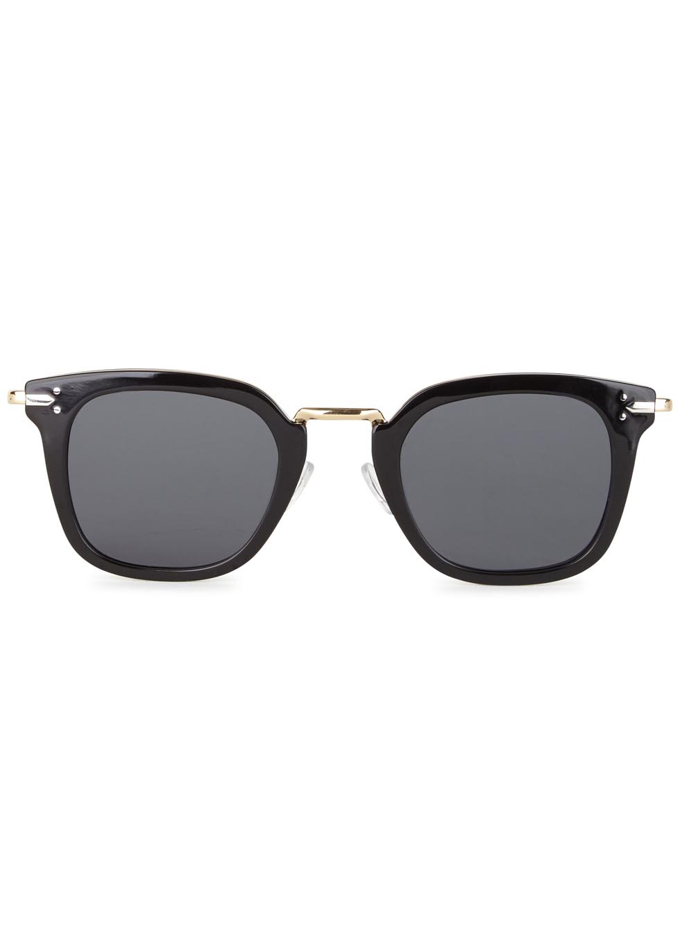 Vic black clubmaster-style sunglasses - Celine