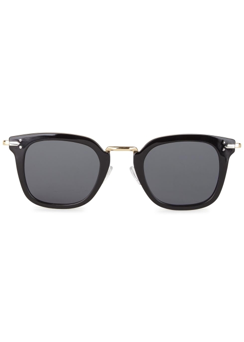 cdf35554993 Celine Vic black clubmaster-style sunglasses - Harvey Nichols