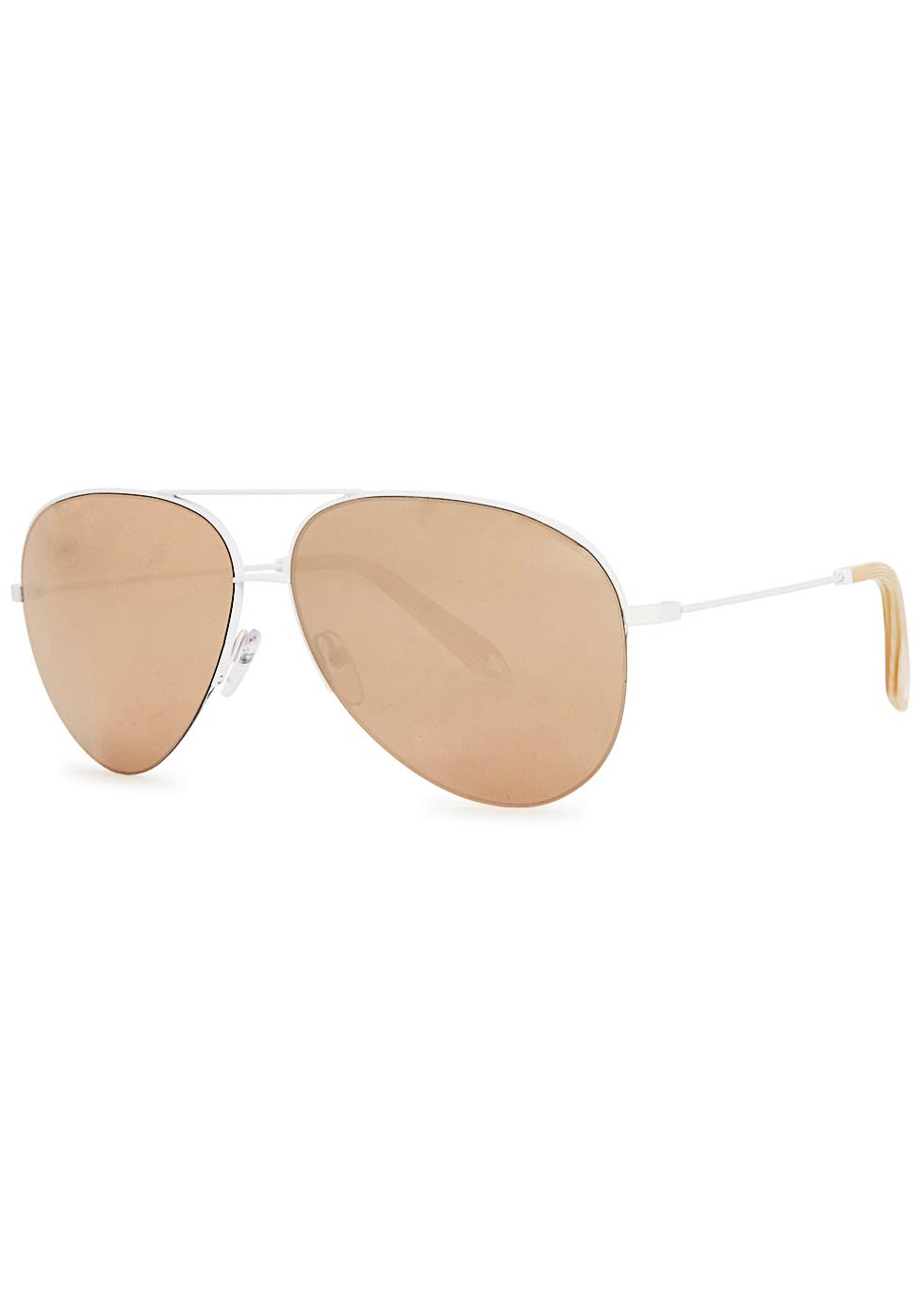 Classic Victoria 18kt gold-plated sunglasses - Victoria Beckham