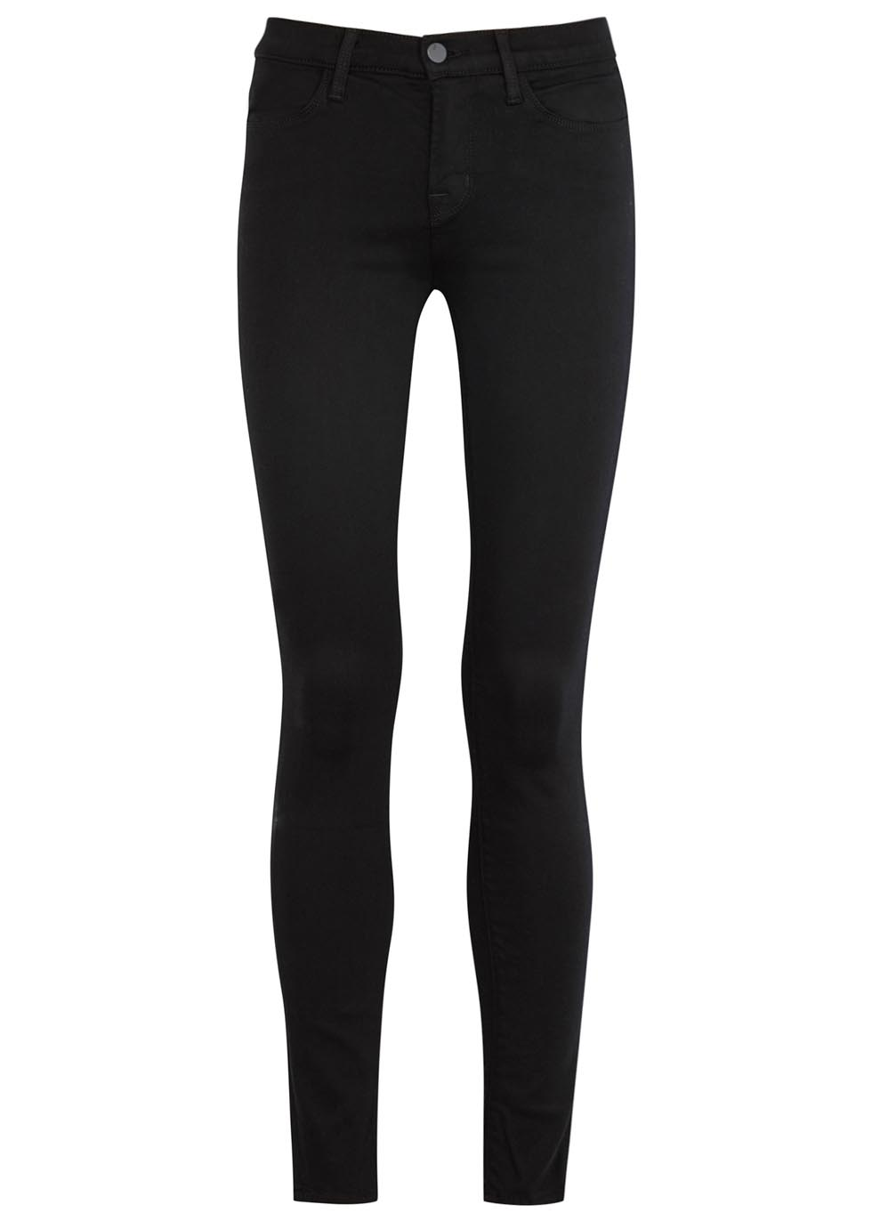 Super Skinny black skinny jeans - J Brand