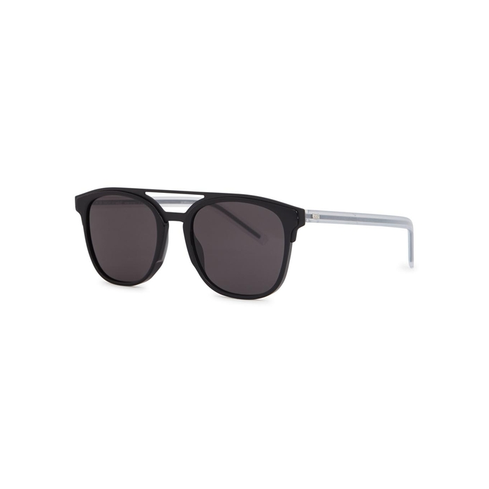 Dior Homme Black Tie 211s Square-frame Sunglasses