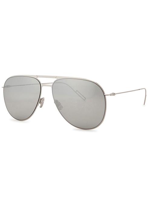 4691a546b22e8 Dior Homme Dior 0205S aviator-style sunglasses - Harvey Nichols