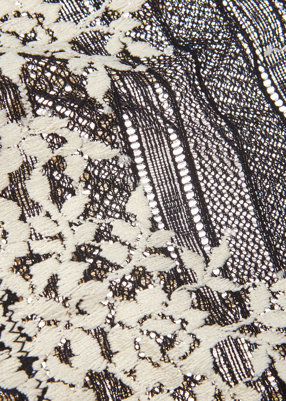 Embrace Lace black briefs - Wacoal
