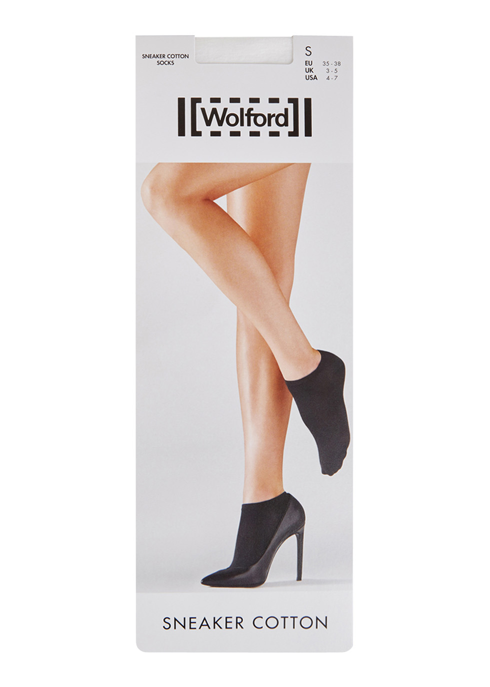 White low-cut cotton socks - Wolford