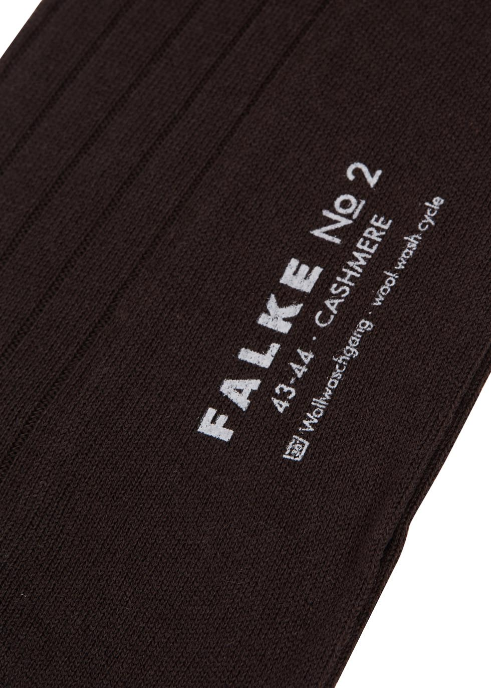 Dark brown cashmere blend socks - Falke
