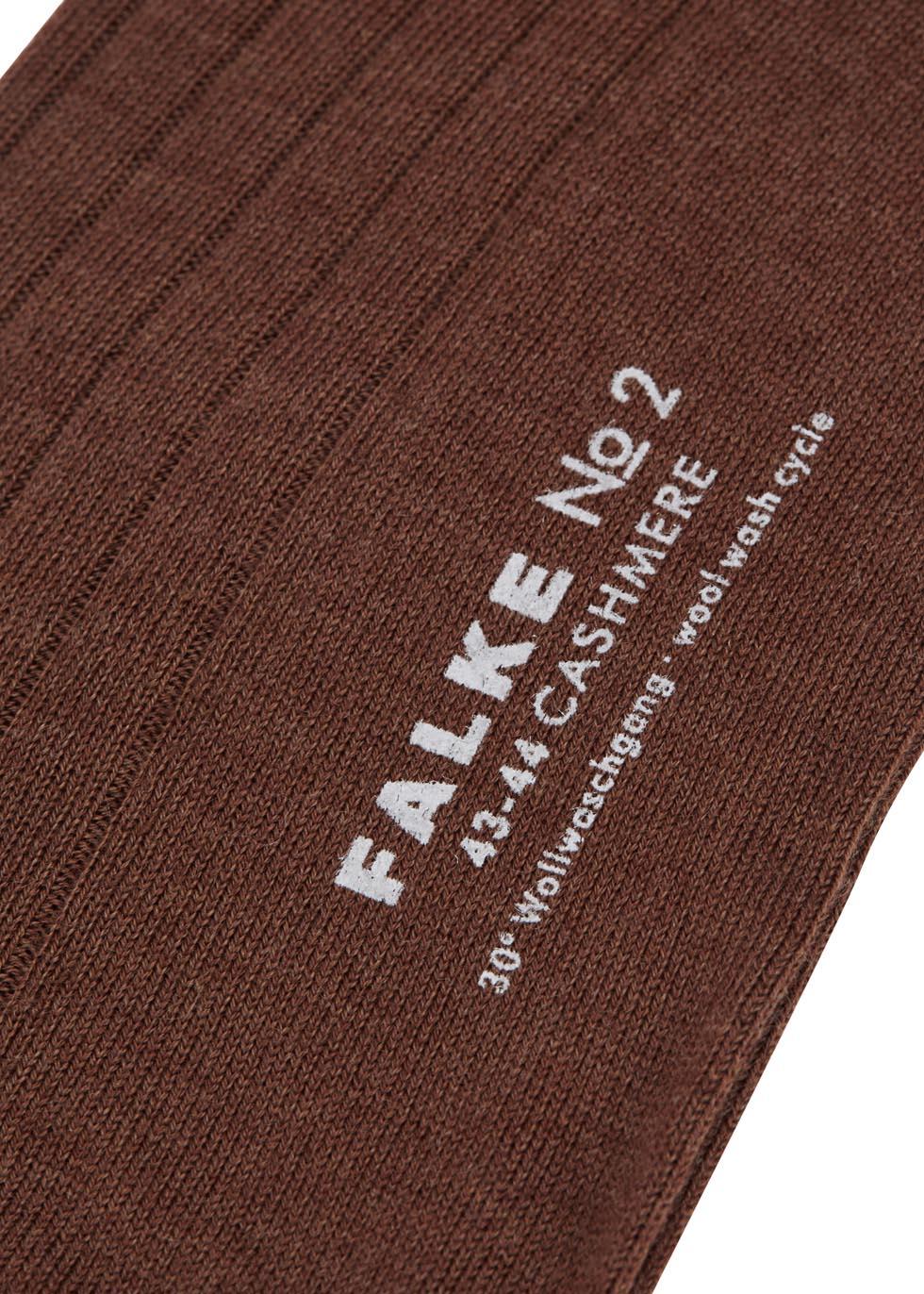 Brown cashmere blend socks - Falke