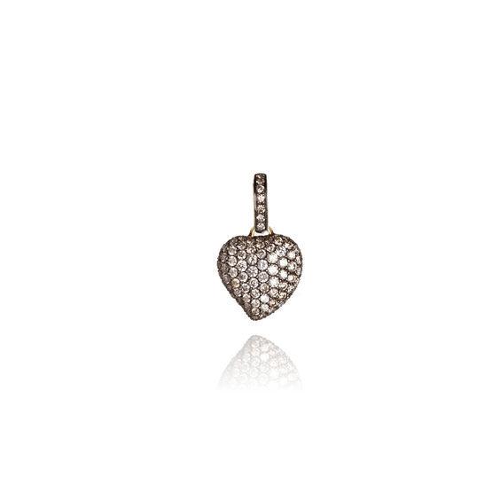 ANNOUSHKA | Annoushka Vintage Diamond Heart Pendant | Goxip