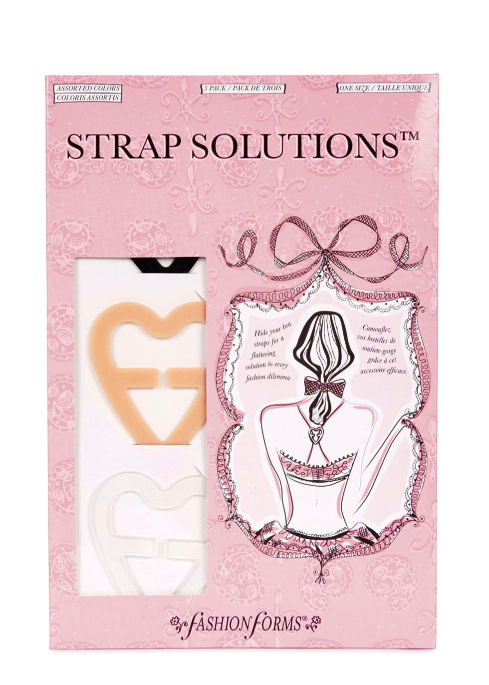 Bra strap solutions - set of 3 - FASHION FORMS