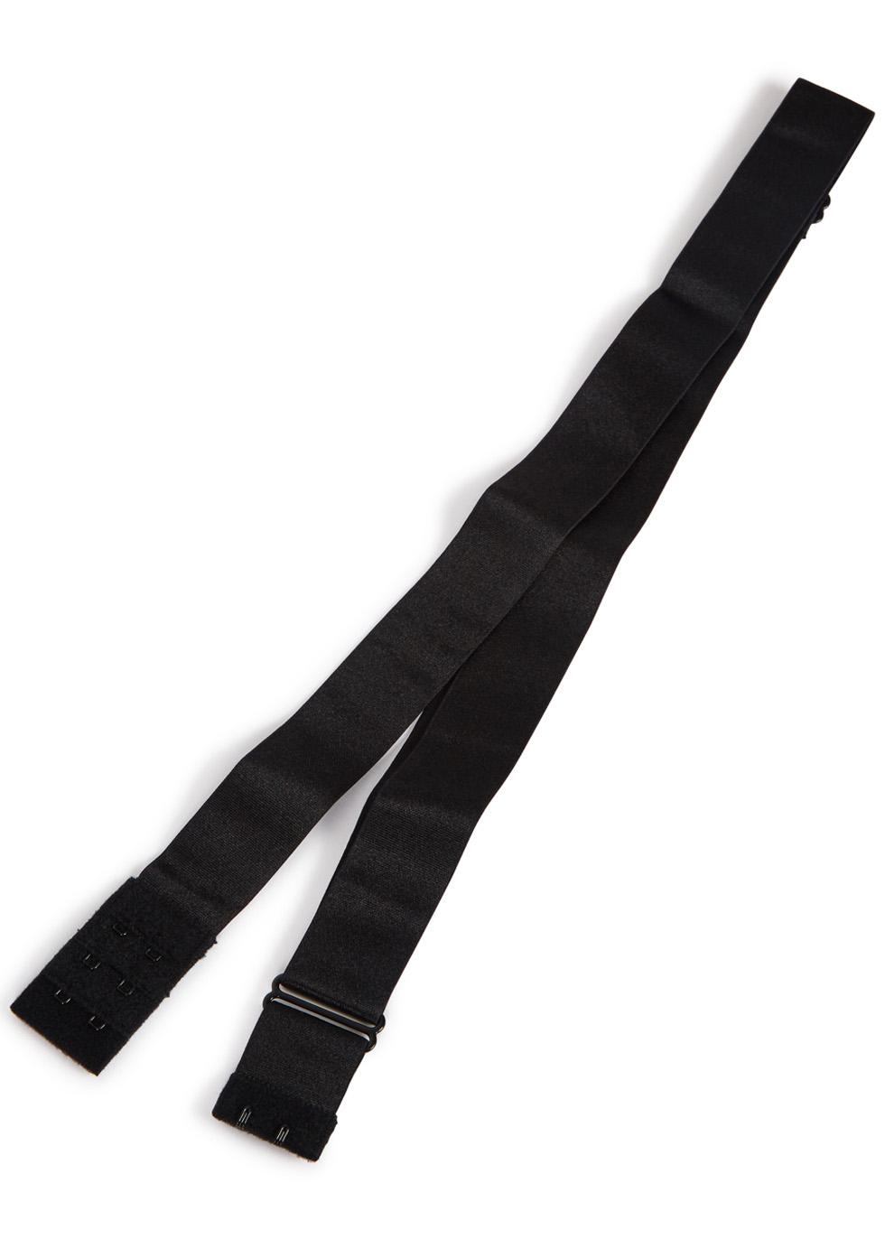 Black adjustable low-back strap - set of 2 - FASHION FORMS