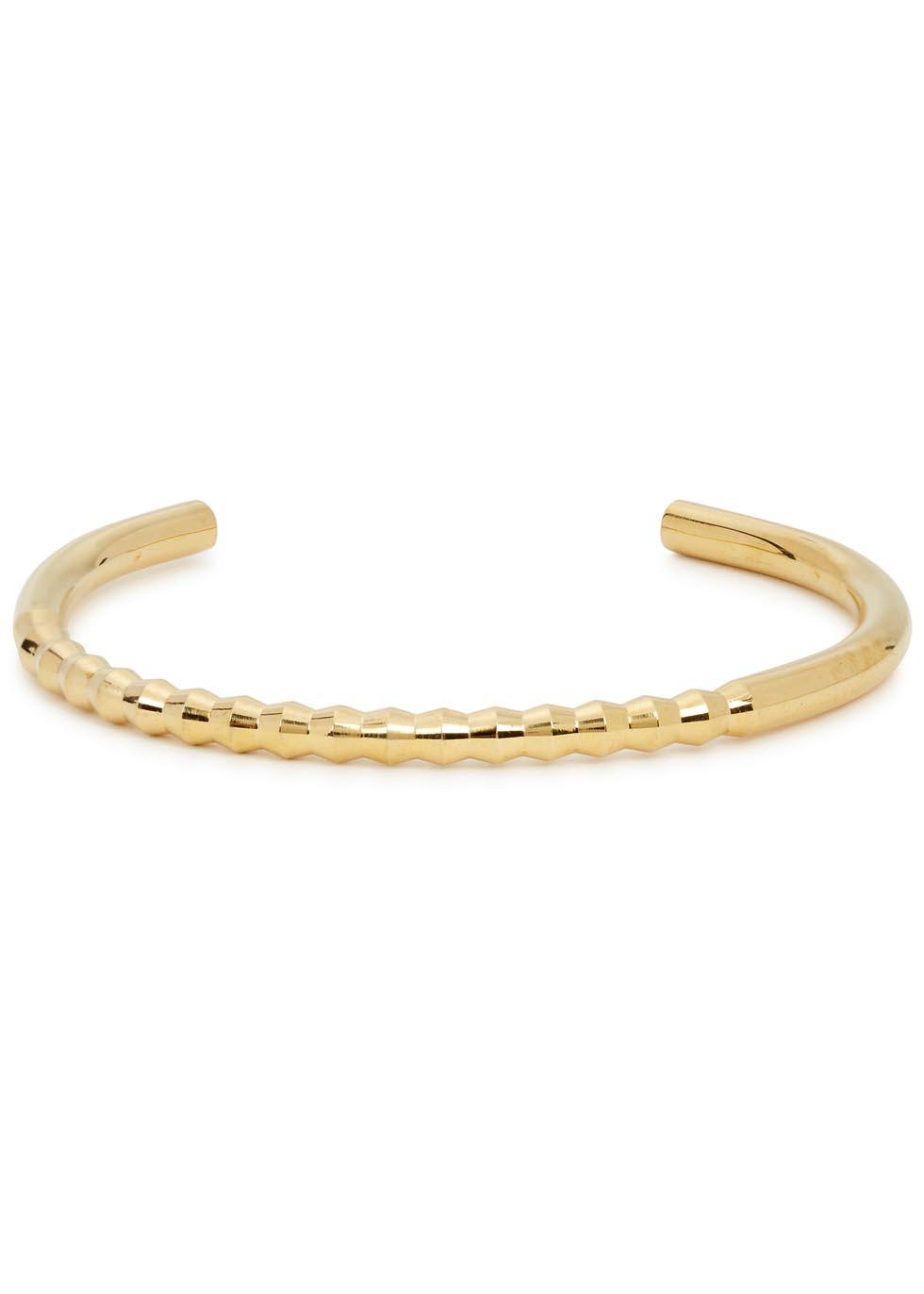 Oscar gold tone brass cuff - Alice Made This