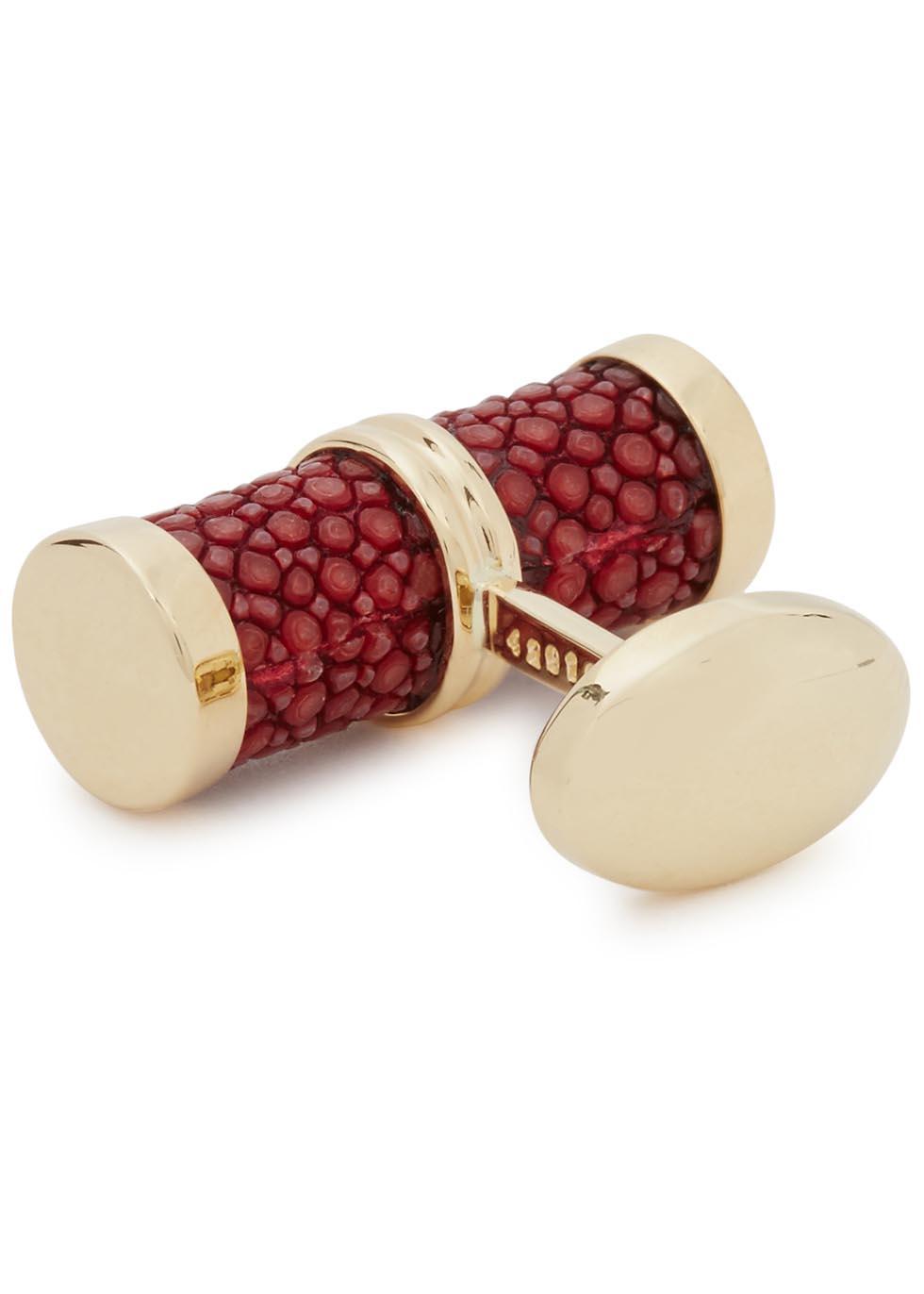 18kt gold cufflinks - Trianon