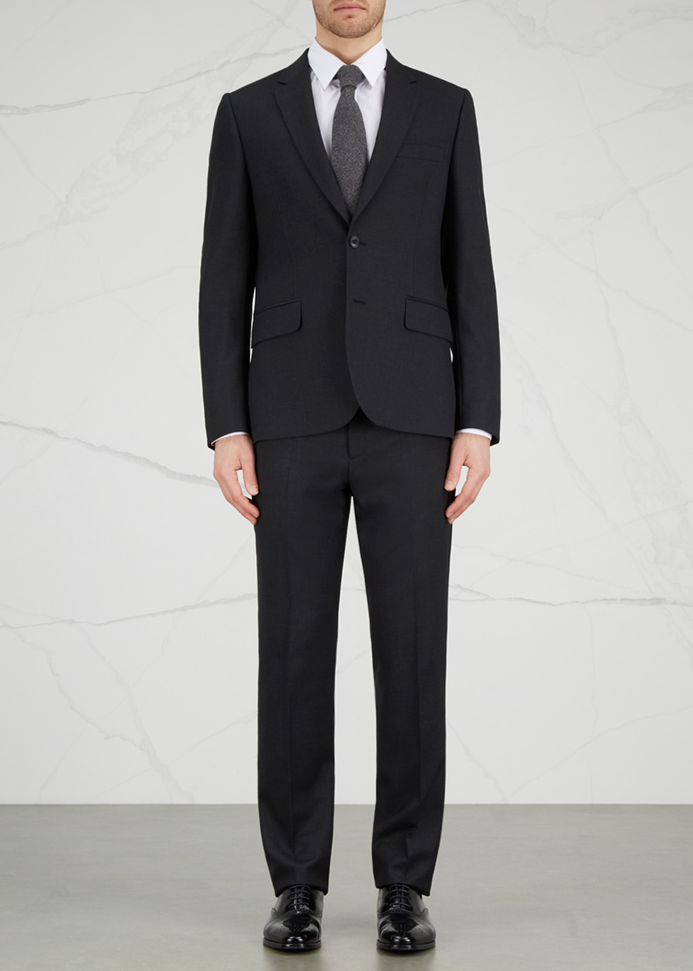 Soho slim-fit wool travel suit - Paul Smith