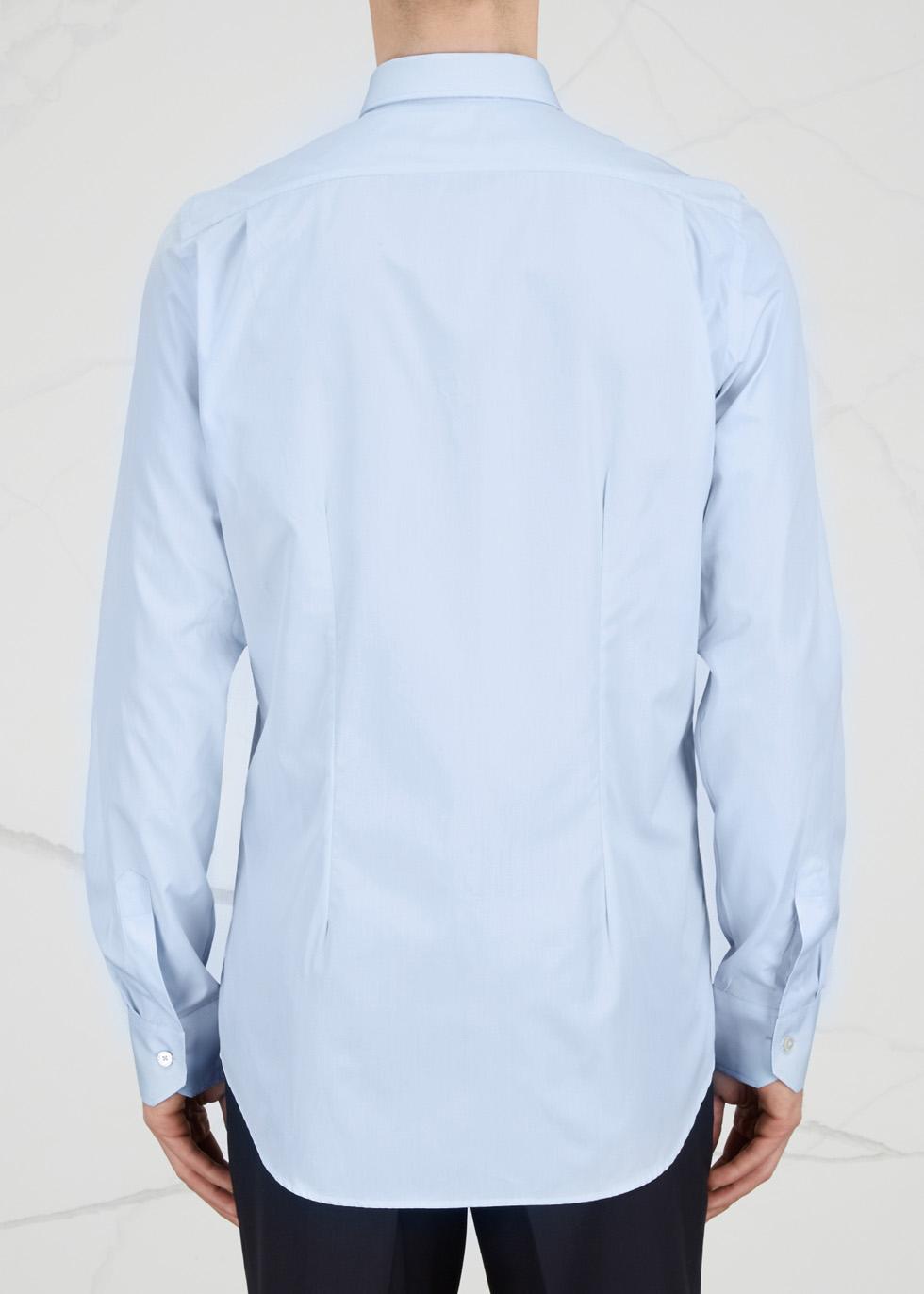 Soho light blue cotton shirt - Paul Smith