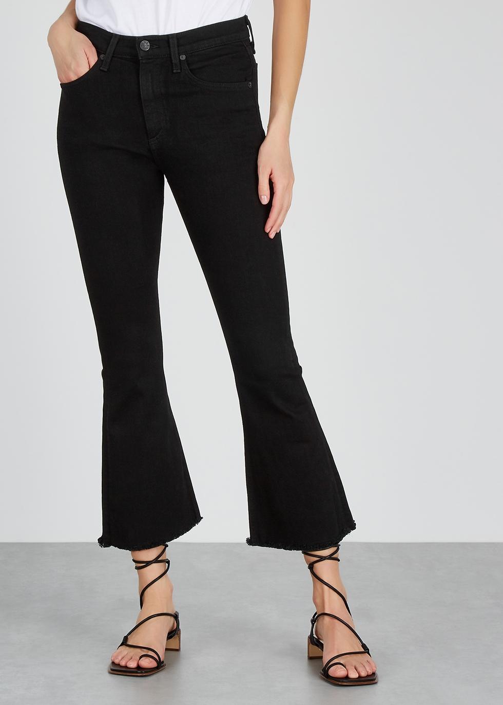 Black kick-flare jeans - rag & bone