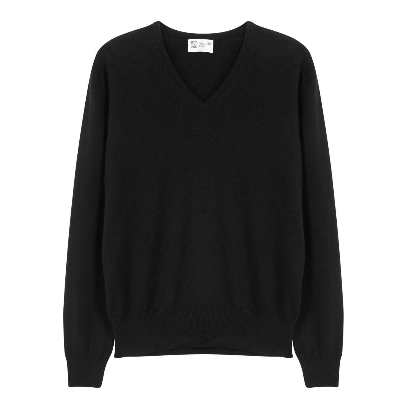 Johnstons of Elgin Black cashmere jumper - Harvey Nichols 86b82661254d