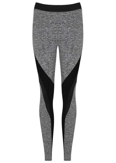 278327d5e42a5a Koral Activewear Frame grey panelled jersey leggings - Harvey Nichols