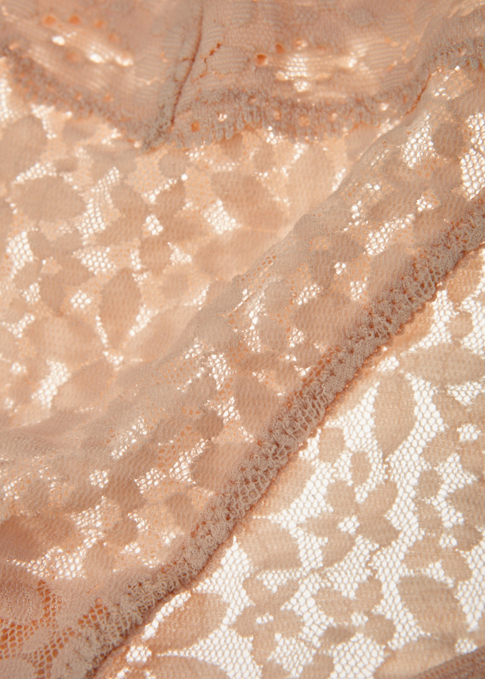 Halo blush lace briefs - Wacoal