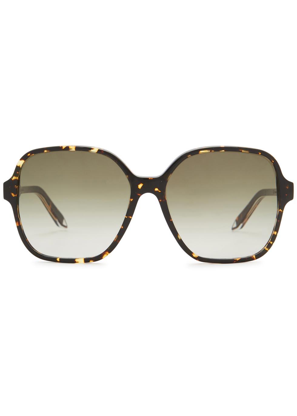 Iconic Square tortoiseshell sunglasses - Victoria Beckham