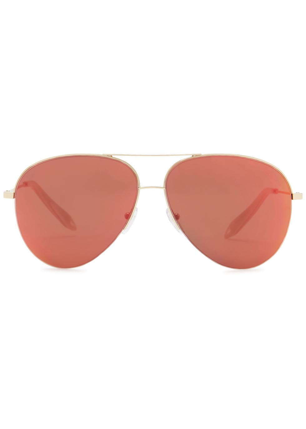 Classic Victoria red mirrored sunglasses - Victoria Beckham