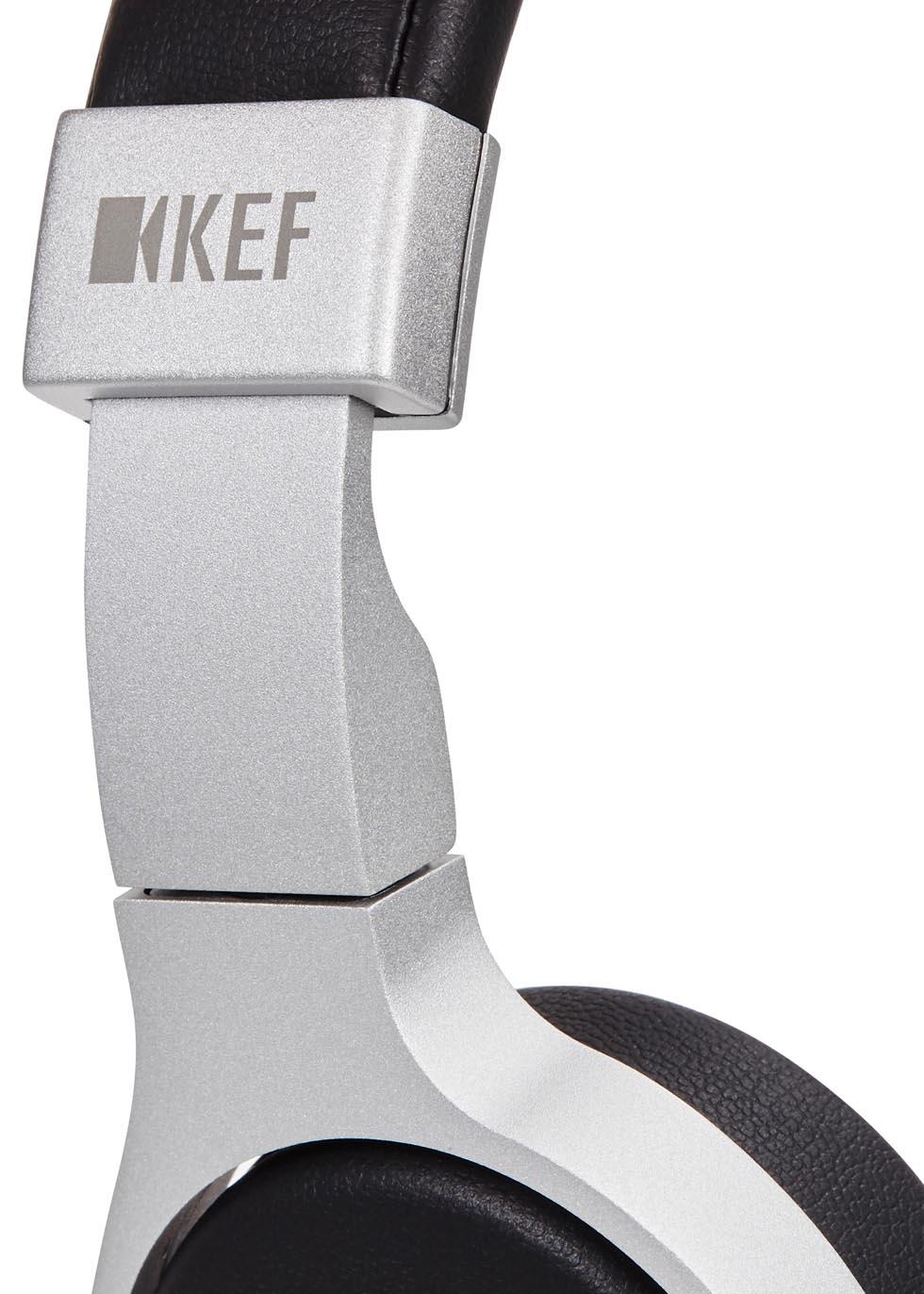 M500 grey aluminium headphones - KEF