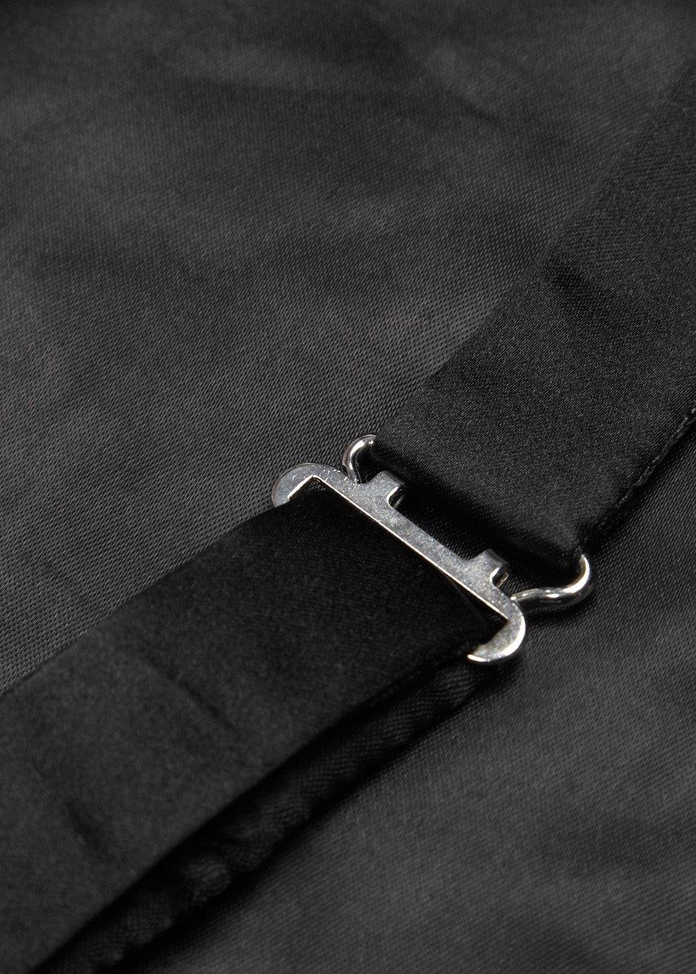 Black pleated silk cummerband - Eton