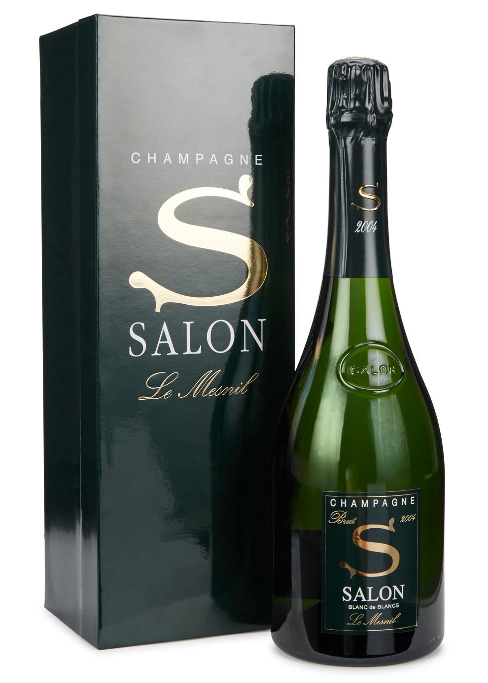 Blanc De Blancs Champagne 2004   Champagne Salon