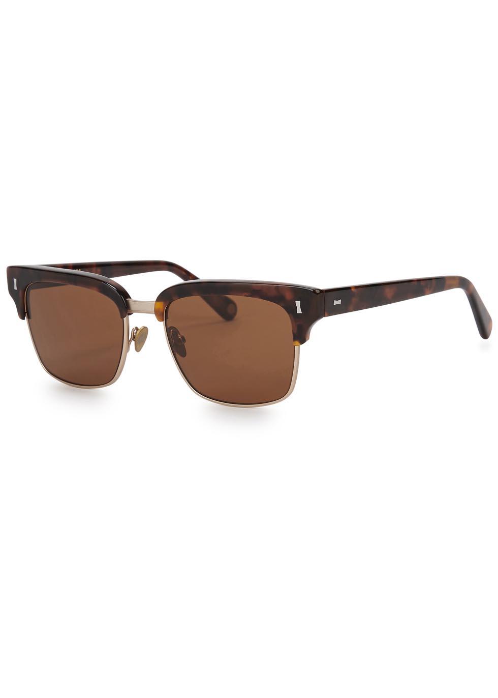 Wynford tortoiseshell sunglasses - CUBITTS