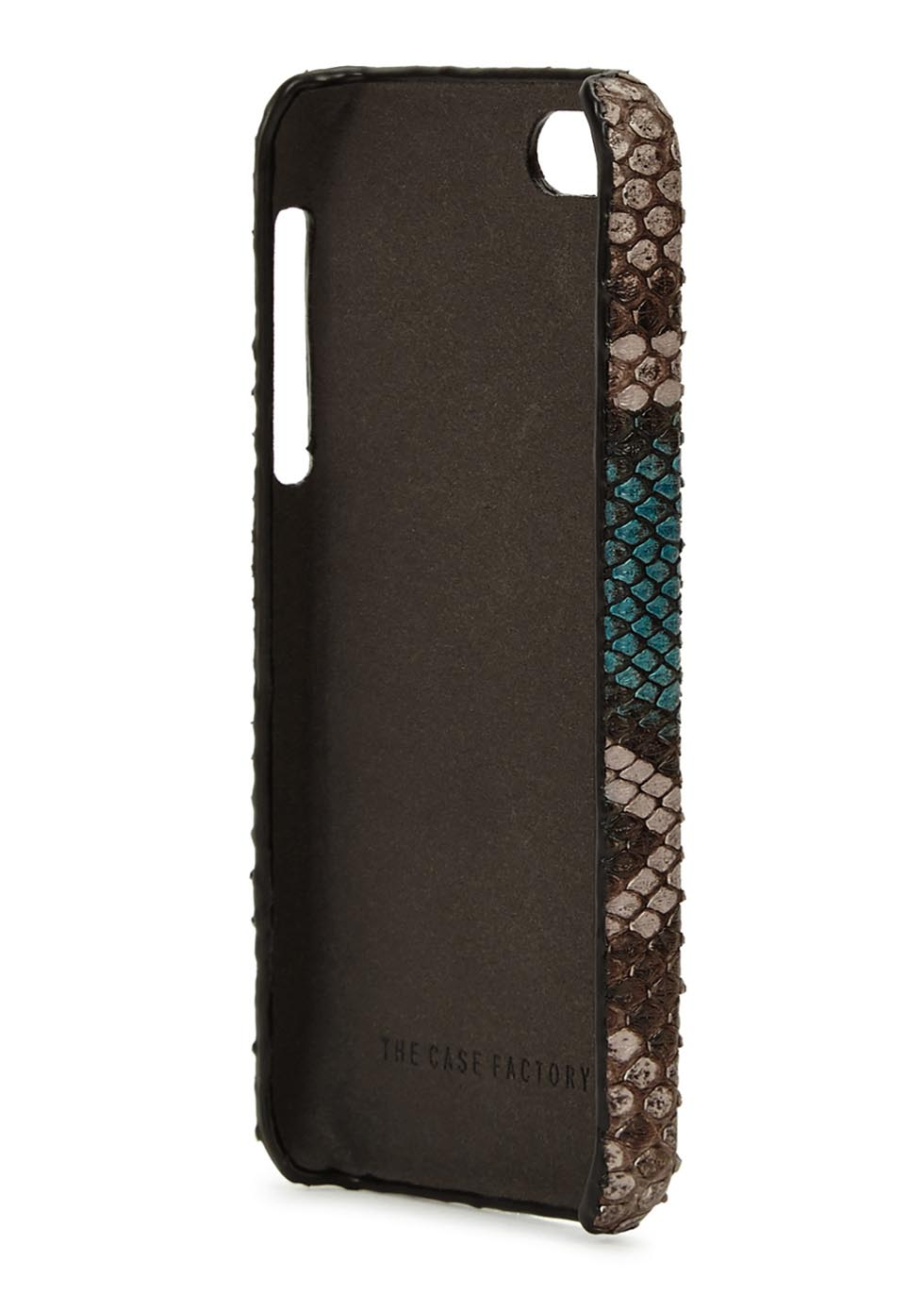 Python-effect leather iPhone 5/5S/SE case - The Case Factory