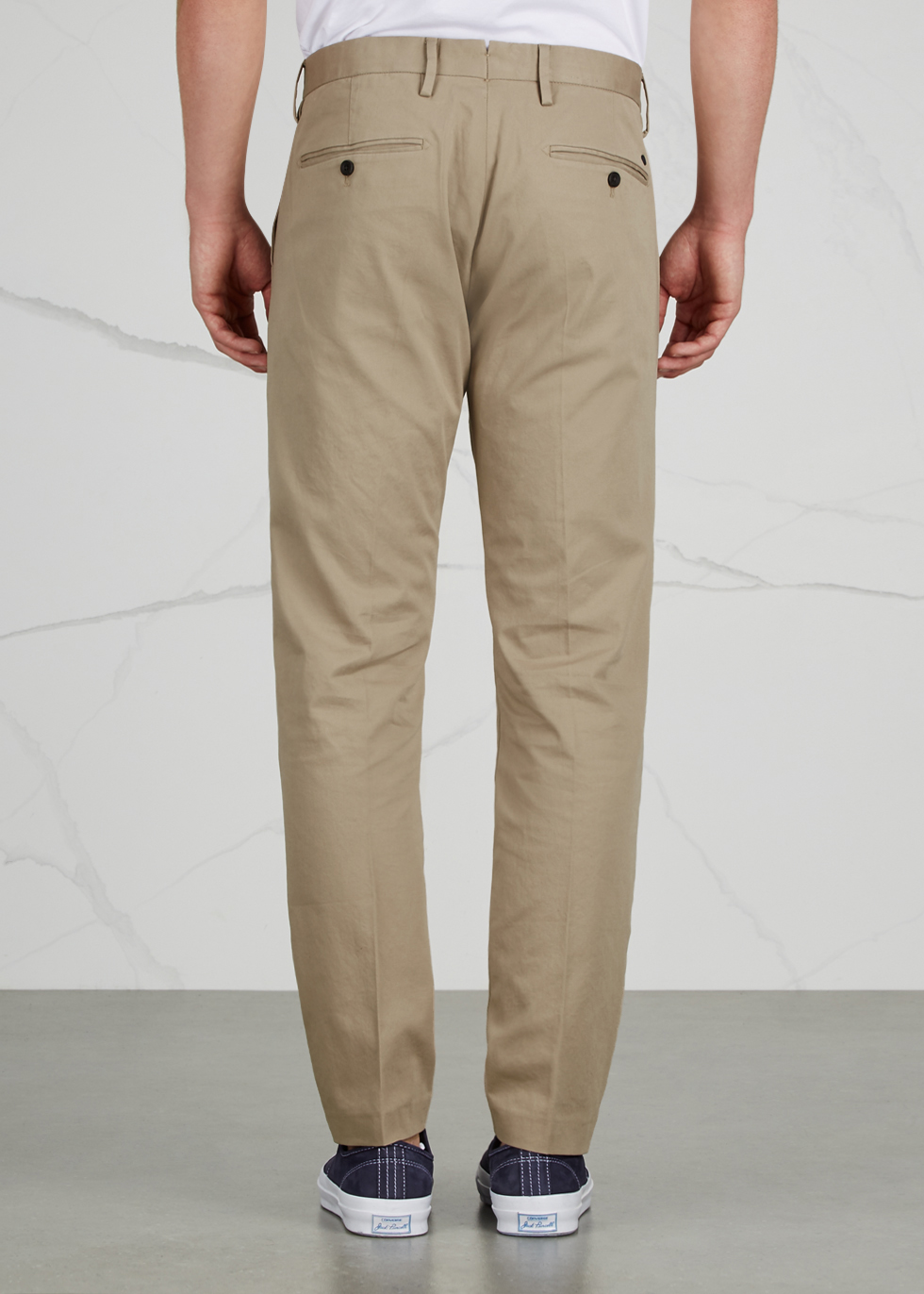 Theo sand stretch cotton chinos - NN07
