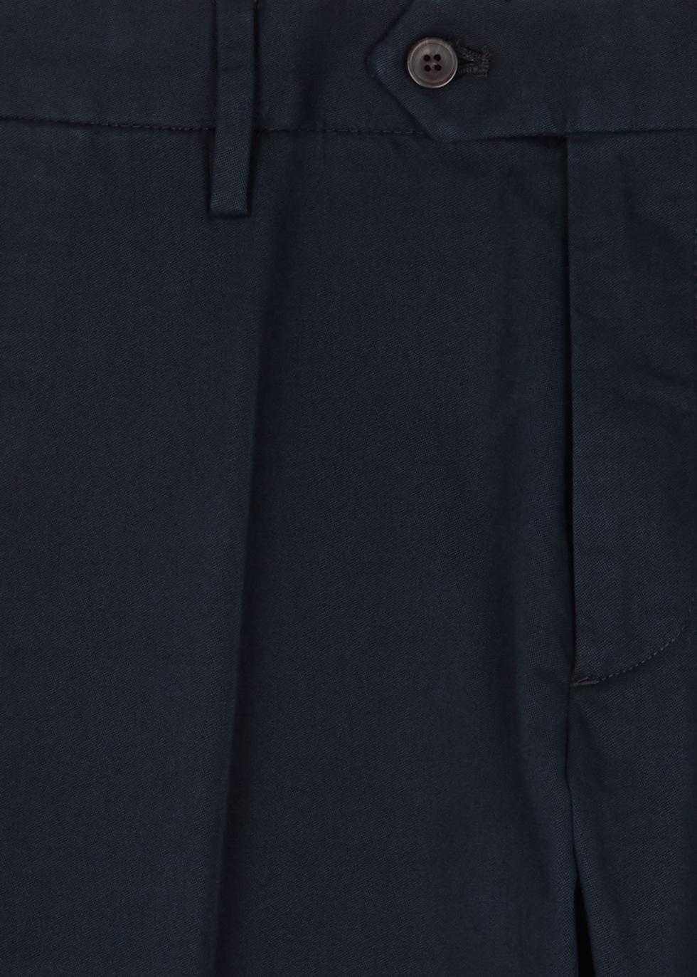 Theo navy stretch cotton chinos - NN07
